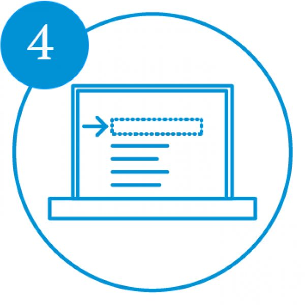 AE Illustration Icon Set Thicker Laptop Analysis Number4
