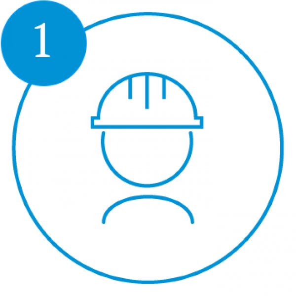 AE Illustration Icon Set Thicker Hard Hat number1
