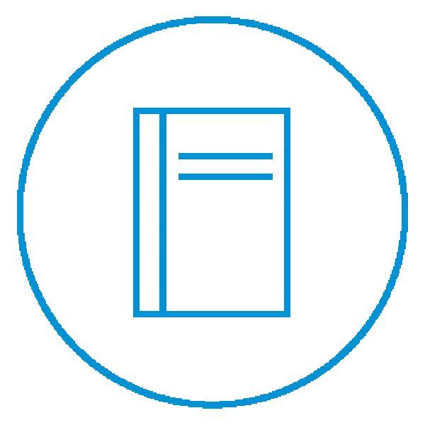 AE Illustration Icon Set Thicker Report Book