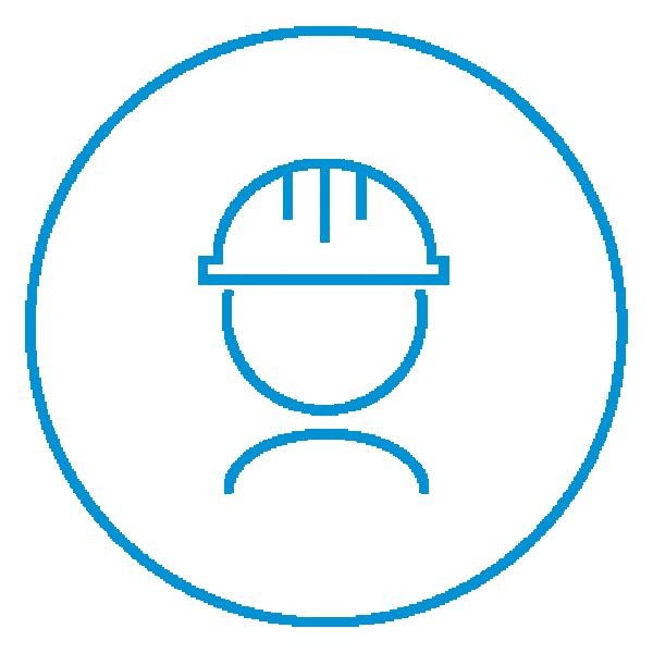AE Illustration Icon Set Thicker Hard Hat