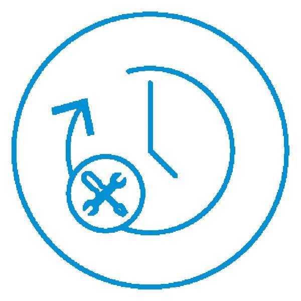 AE Illustration Icon Set Thicker time maintenance