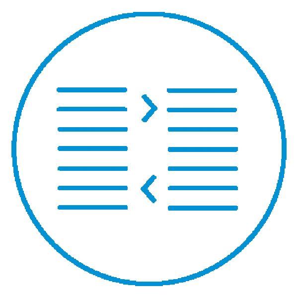 AE Illustration Icon Set Thicker Text Align