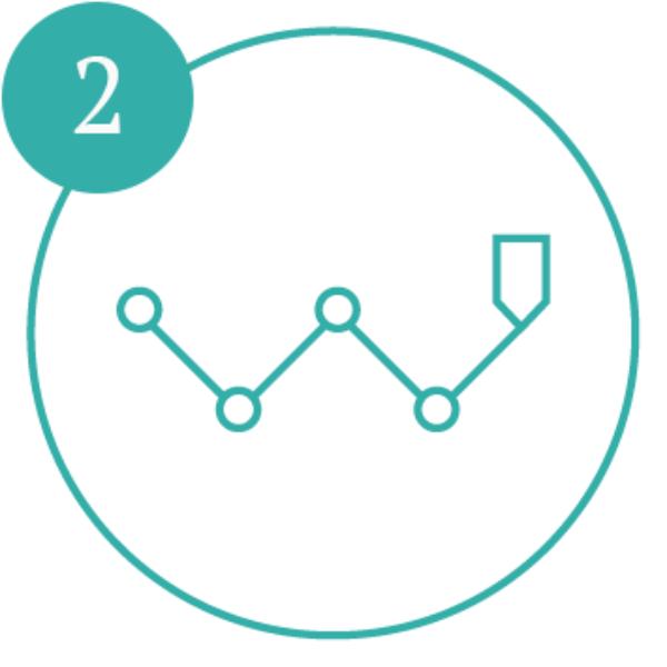 AE Illustration Icon Set Aim Hi Road Map number2