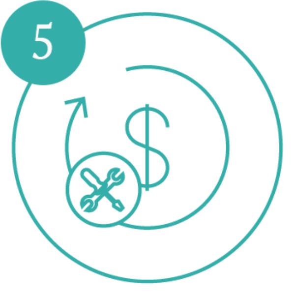 AE Illustration Icon Set Aim Hi time maintenance number5