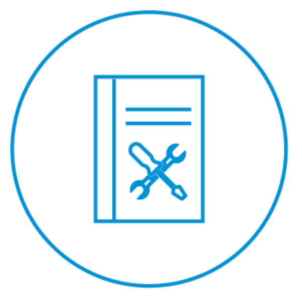 AE Illustration Icon Set Thicker Maintenance Procedures