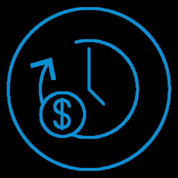 AE Illustration Icon Set Thicker time money