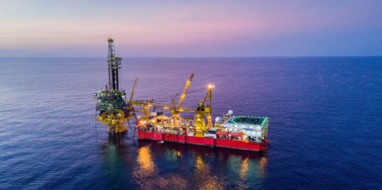 AE Photo Tender Drilling Oil Rig