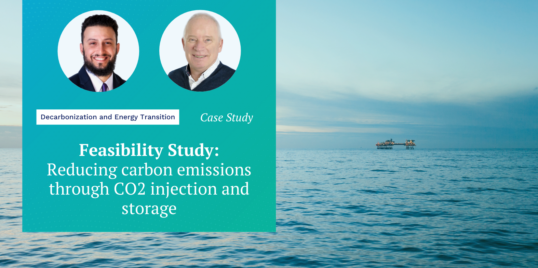Feasibility Study Reducing carbon emissions through CO2 injection and storage